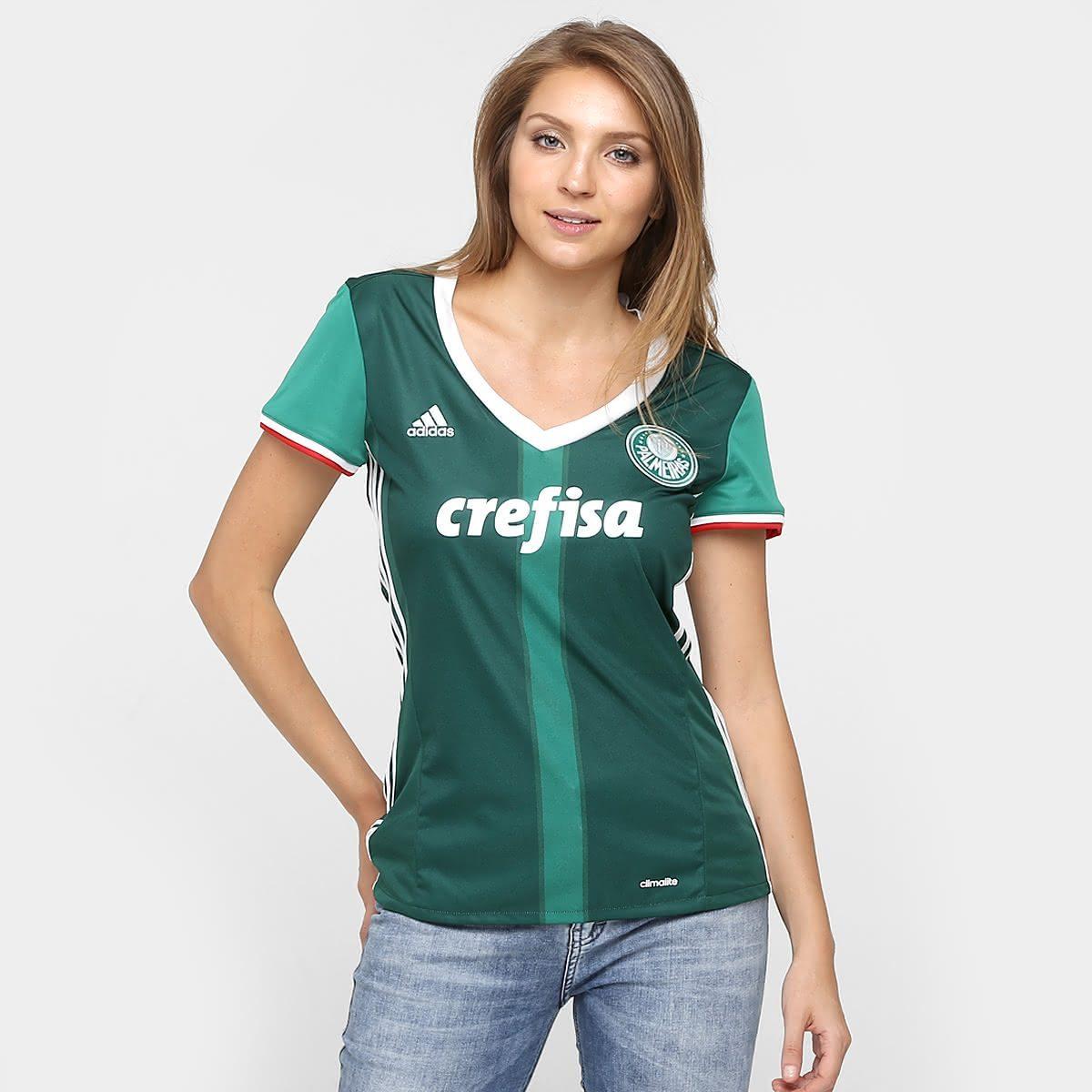 Camisa Feminina do Palmeiras be8526c9c63e0