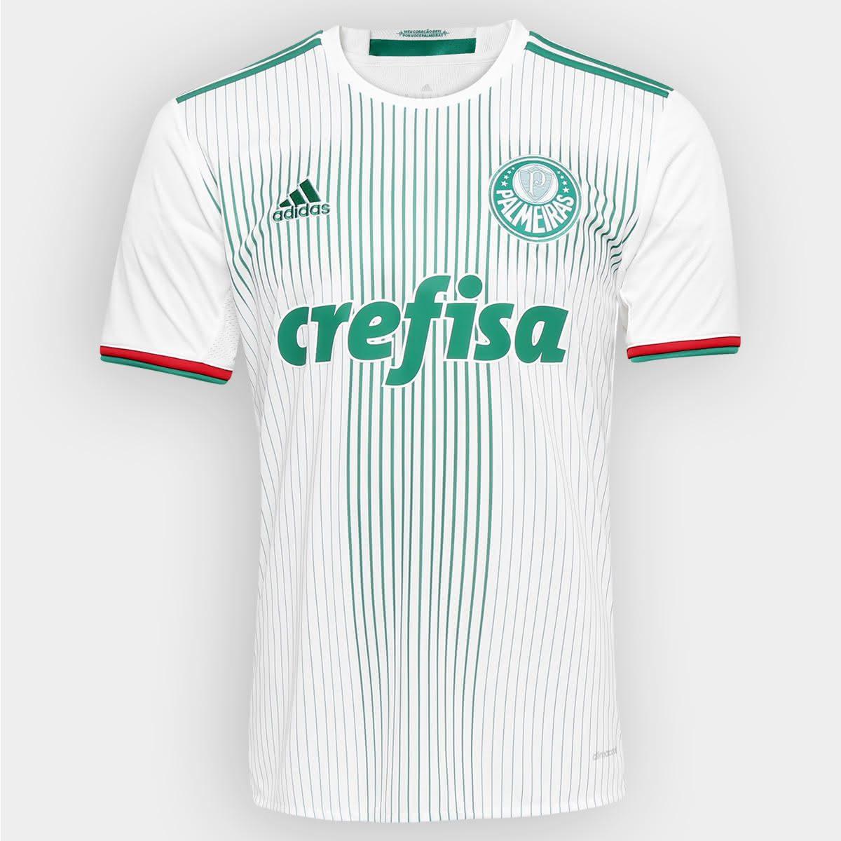 Essa é camisa II usada em 2016. Ficou entre as mais vendidas do clube 61df1e0617500